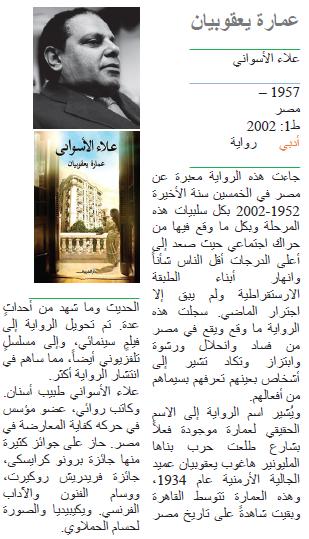 علاء الأسواني عمارة يعقوبيان
